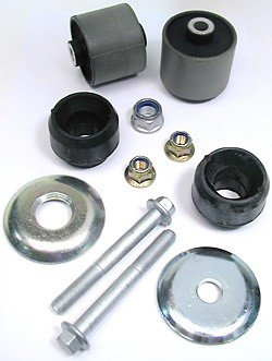 Land Rover Front Radius Arm Rebuild Kit with Bushings and Hardware for Range Rover P38