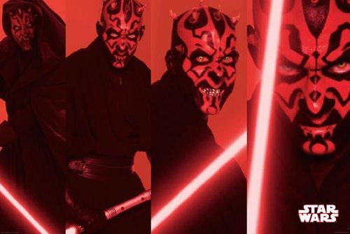 Star Wars - Darth Maul Panels Poster - 61x91.5cm