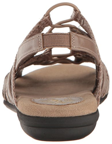 LifeStride Women's Behave Gladiator Sandal Mushroom XOMINLFQVL