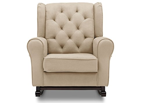 Delta Furniture Emma Upholstered Rocking Chair, Ecru by Delta Furniture (Image #2)