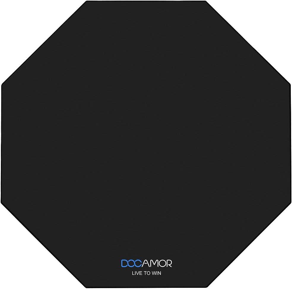 Docamor Gaming Chair Floor Mat, 47
