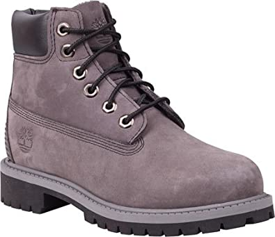 Timberland [6IN PRM BT INF-9580R] 6INCH Classic Contruction Boot Infants  Boots TIMBERLANDGREYM
