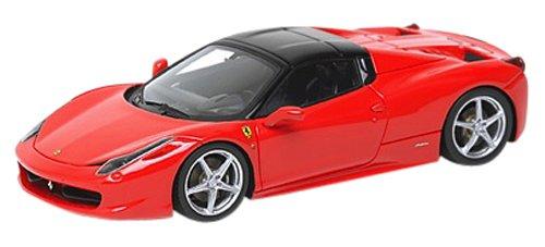 1/43 フェラーリ458 スパイダー 2011 クローズ ホイール・スポーツ レッド/ブラックホイール 限定100台 EM237B1