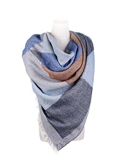 Womens Winter Scarf Shawl Cape Blanket Oversized Shawl Wrap Poncho (Knit Wrap Pattern)