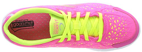 Skechers Go Fit 2 Presto, Women Hi-Top Sneakers Pink (Hplm)