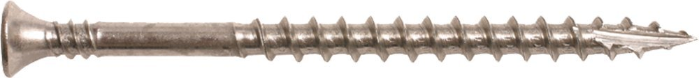 PAM Fastening Technology WDSS1003 316SS 2/3rd Coarse Thread Type 17pt 3 Square Drive Collated 10 x 3-Inch Screw, 1000 Screws per Box