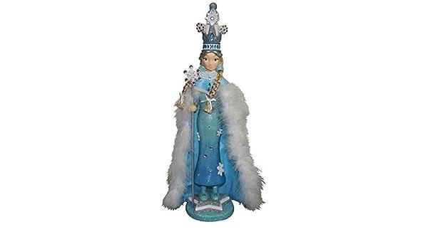 Amazon.com: Hollywood Snow Princess Cascanueces, de 20 pulgadas: Home & Kitchen