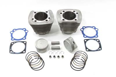 V-Twin 11-1104 - 1200cc Cylinder and Piston Conversion Kit Silver