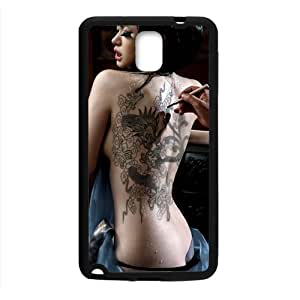 Sexy Girl Black Phone Case for Samsung note3