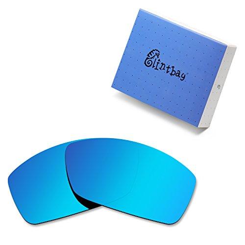 Glintbay 100% Precise-Fit Replacement Sunglass Lenses for Costa Del Mar Corbina - Polarized Ice Blue ()