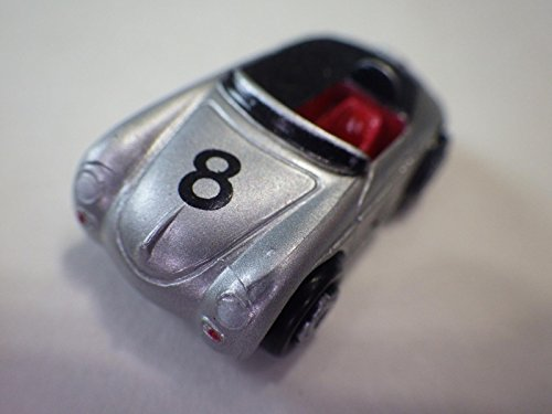 Galoob (China Silver Porsche 356 Speedster Race Plastic 32-mm Nib