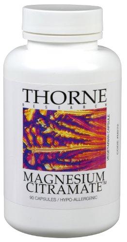 Thorne Research - Magnésium CitraMate (135 mg) - 90 Vegetarian Capsules