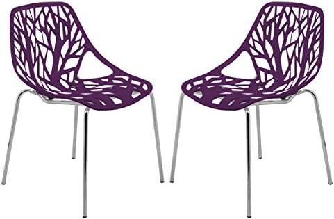 LeisureMod Asbury Modern Dining Chair
