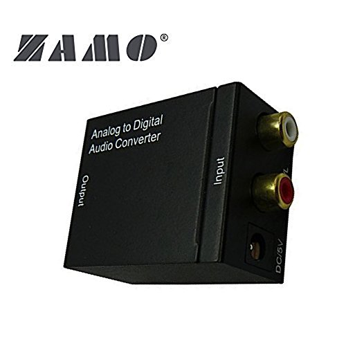 Price comparison product image ZAMO Analog to Digital Audio Converter Adapter
