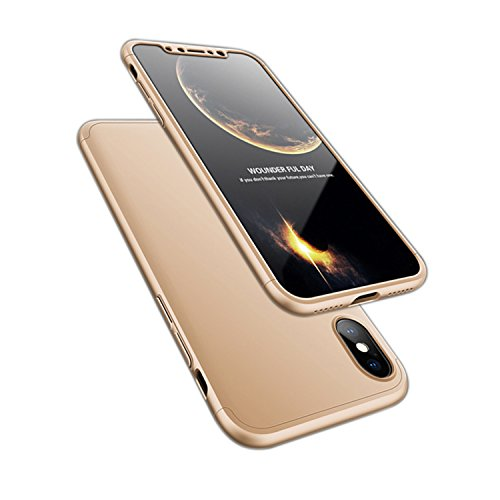 ATRAING iPhone X Case, Trading Ultra-Thin PC Hard Case Cover For Apple iPhone X - Gabanna Model Dolce And