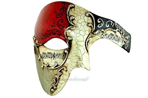 Phantom of the Opera Venetian Masquerade Mask
