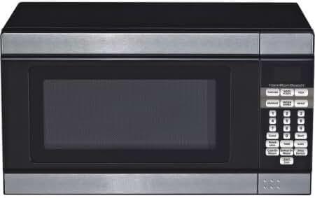 0.7-cu. ft. Microwave Oven, Black