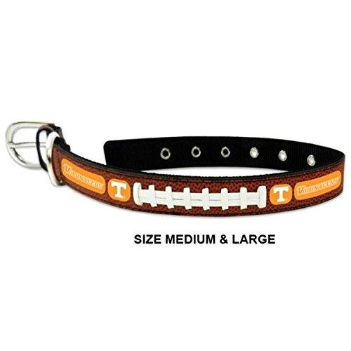 Pet Care Preferred Tennessee Vols Classic Leather Football Collar - Medium