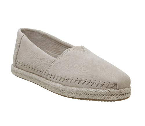 - TOMS Women's Alpargata on Rope Stone Brown Nubuck On Rope 8 B US