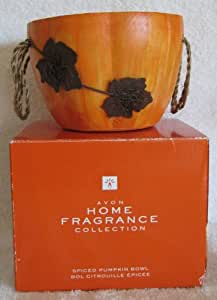 Avon Home Fragrance Collection-Spiced Pumpkin Bowl