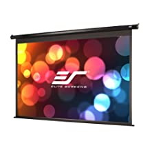 Elite Screens Spectrum, 100-inch 16:9, 4K Home Theater Electric Motorized Drop Down Projection Projector Screen, ELECTRIC100H