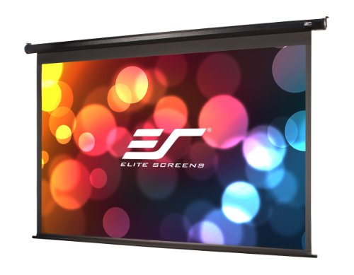 Elite Screens Spectrum, 100-inch 16:9, 4K Home Theater Electric Motorized Drop Down Projection Projector Screen, ELECTRIC100H (Home Theater 100 Projector)