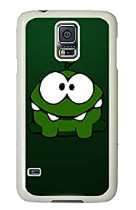 Samsung Galaxy S5 Cases & Covers - Cut The Rope Animation 01 PC Custom Soft Case Cover Protector for Samsung Galaxy S5 - White