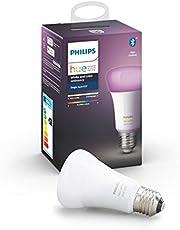 Philips Hue White and Color Ambiance LED Smart Bulb, White, E27