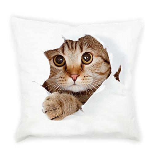 VIPbuy Super Soft Short Plush Square Decorative Throw Pillow Case Sofa Waist Cushion Cover 18
