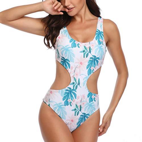 - Swimsuits for Womens, DaySeventh Women Siamese Bikini Set Push-Up StripeSwimwear Beachwear Swimsuit Blue