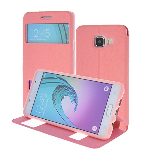S-View Flip Cover for Samsung Galaxy A5 (Pink) - 7
