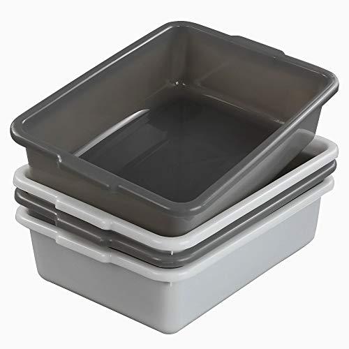 Teyyvn Plastic Bus Box/Utility Box, Commercial Wash