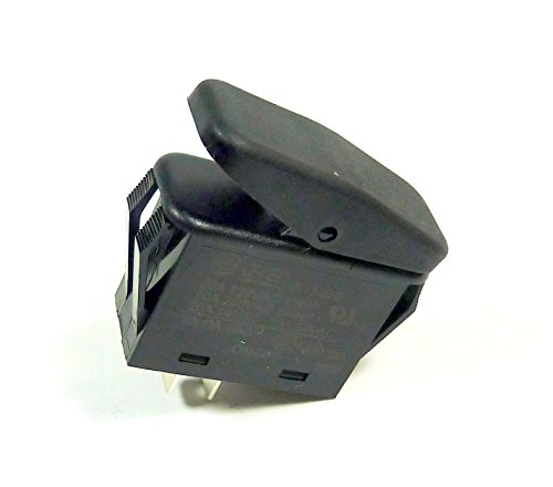 Philmore Guardian Automotive Snap-In On-Off Rocker Switch SPST 20A 12VDC Dust and Moisture Resistant