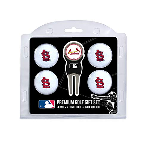 big sale 0b71a 14cbd MLB St. Louis Cardinals 4 Ball Gift Set, Navy