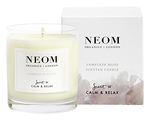 NEOM 센 티 드 캔 들 (1 위185g) COMPLETE BLISS (CALM & RELAX) / NEOM Sent Candle (1 wick185g) COMPLETE BLISS(CALM & RELAX)