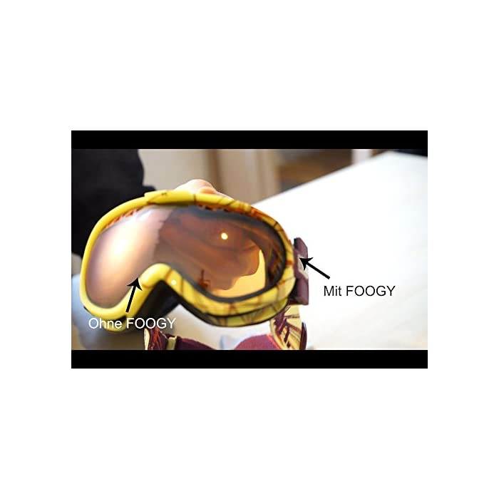 41qK%2B43 9dL Siempre, en todas partes e inmediatamente listo para usar: FOOGY es un paño 100% seco y NO se requieren líquidos adicionales Extra duradero: el paño de microfibra FOOGY para gafas se puede utilizar más de 200 veces y dura hasta 10 horas con una sola aplicación. Alta calidad, certificado, libre de PFOA y libre de PFAS: FOOGY está certificado (REACH, OEKO-TEX 100, MSDS, prueba textil Hermes) y cumple con los requisitos de alta calidad de la UE. toallitas antivaho