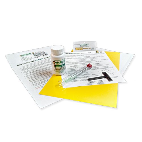 etchall Glass Etching BEE-ginner Kit (4 oz.) by Etchall
