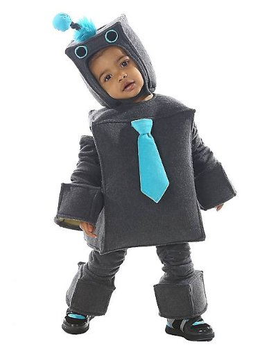 Robot Costume Toddler (Princess Paradise Baby Boys Roscoe The Robot, Gray, 18 Months/2T)