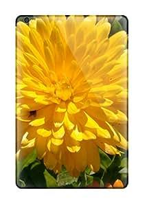 New Yellow Flowers Tpu Skin Case Compatible With Ipad Mini/mini 2