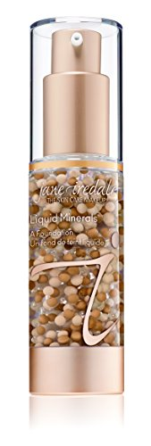 jane iredale Liquid Minerals A Foundation, Light Beige, 1.01 oz.
