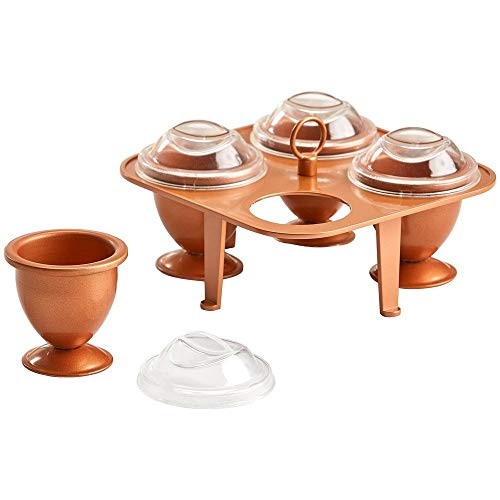 Copper Chef Eggs (X-Large)-Copper Chef Egg Cooker- No Peel Soft, Hard and Poached Eggs Without the Shell ...