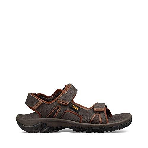 Teva Mens M Katavi 2 Sport Sandal, Black Olive, 13 M US (Sandals Teva Mesh)