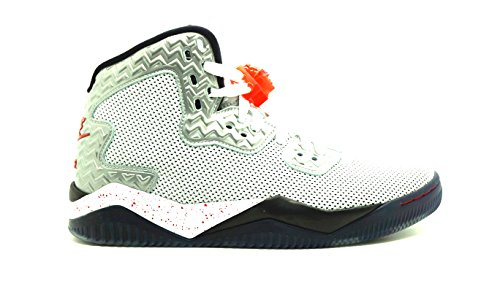 Nike air Jordan Spike Forty pe Mens Basketball Trainers 807541 Sneakers Shoes (US 7.5, White fire red Black 101) (Jordan 5 Low White Fire Red Black)