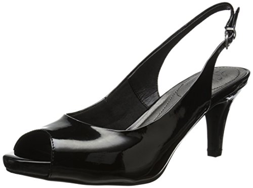 LifeStride Women's Teller, Black Patent, 7.5 M US