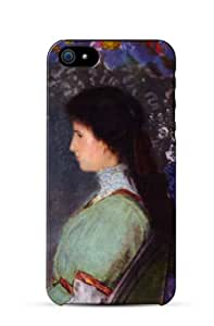 iPhone 5 Case Portrait of Violette Heymann, Odilon Redon, 1910 Cell Phone Cover