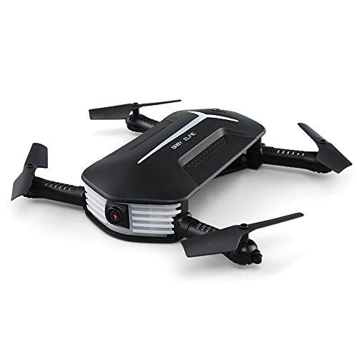 Ballylelly JJR / C H37 Mini Drone 2,4G Wi-Fi FPV RC Quadcopter mit 3 Akku Höhe halten