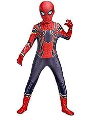 Kids Spiderman Cosplay Kostuum Pak Volwassenen Kinderen Kind Superhero Kostuums Lycra Spandex 3D-stijl Jumpsuit Elastic Bodysuit Halloween Carnaval Cosplay Party Fancy Dress