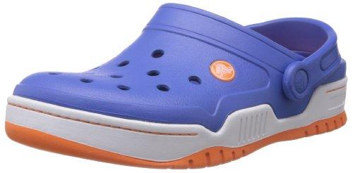 Crocs Unisex Court Front Crocs Blue Sea Court Unisex Clog Orange Front wfIqttd
