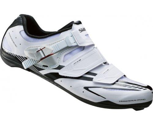 SHIMANO R170 Zapatillas de Carretera Caballero Blanco