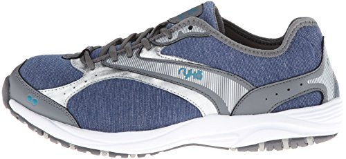 gris Stretch Dash Women's Walking Shoe Bleu Ryka nwBvYq78